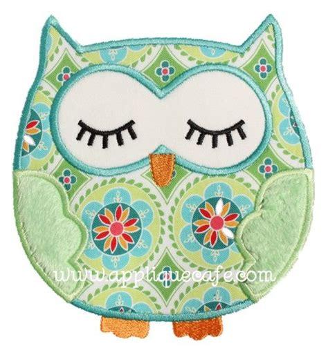 printable owl applique applique designs design and appliques on pinterest