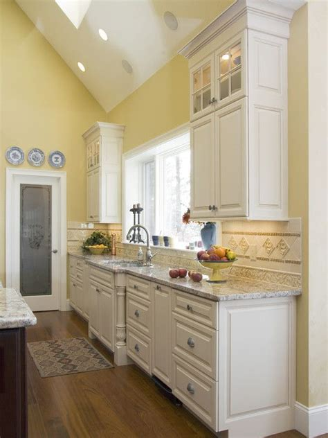 Yellow Walls White Cabinets Kitchen Yellow Kitchens Design Pictures Remodel Decor And Ideas Page 4 For The Home