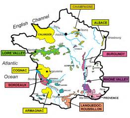 Wine Regions Of France Map by Wine Region Maps Images