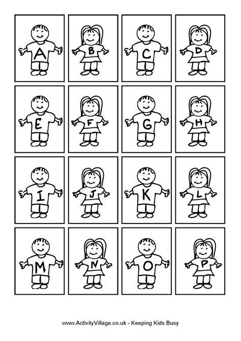 Blog Professor Zezinho : Alfabeto crianças - molde de
