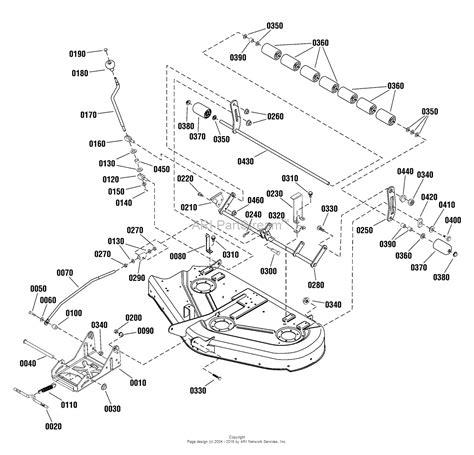44 parts diagram simplicity 1695133 44 quot mower deck parts diagram for 44