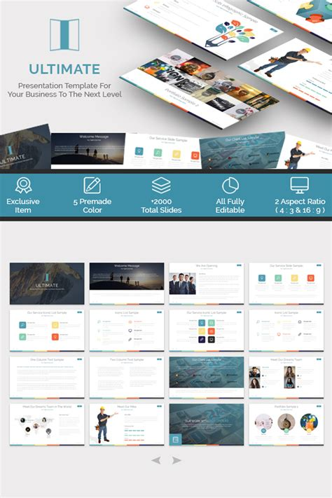 ultimate template ultimate presentation powerpoint template 65545