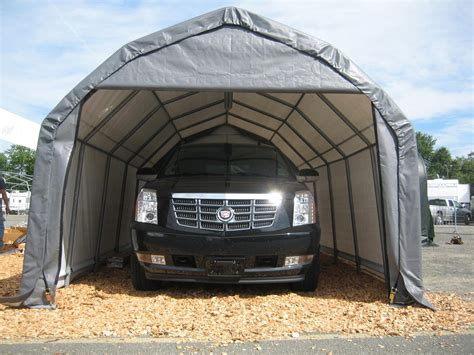 Car Portable Garage by Portable Garages Temporary Carports All Weather