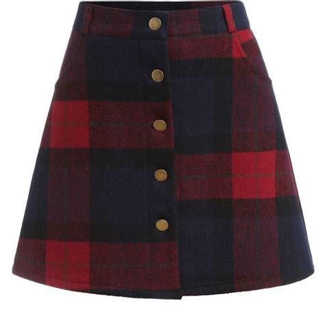 A Line Plaid Skirt best 25 tartan skirts ideas on