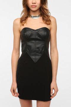 Pop Katun Impor Dress 4450 wearing leather dresses popsugar fashion