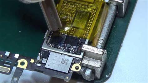iphone 6 audio ic replacement no sound fix не работает динамик и микрофон