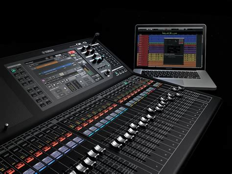 Mixer Yamaha Ql 5 yamaha launches at prolight sound their new digital