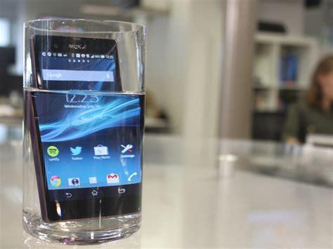 review   waterproof phone bring sony  business