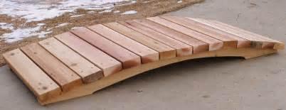 how to build a small wooden bridge building a footbridge over a creek