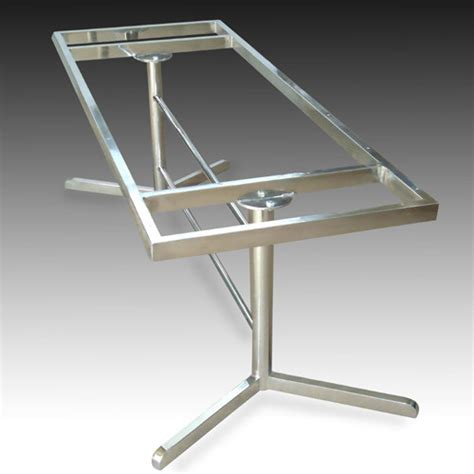 Stainless Steel Dining Table Frames Stainless Steel Table Frame Home Design
