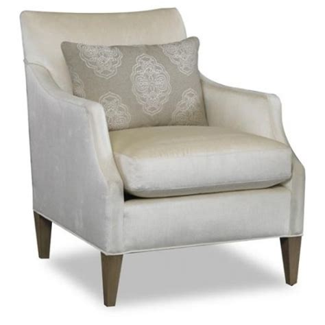 Ariel Chair by Ariel Chair With Wood Legs Santa Barbara Design Center