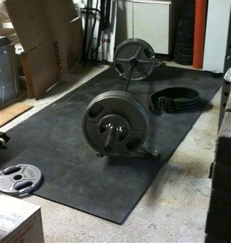 Deadlift Floor Protection by Admin Lift Bros