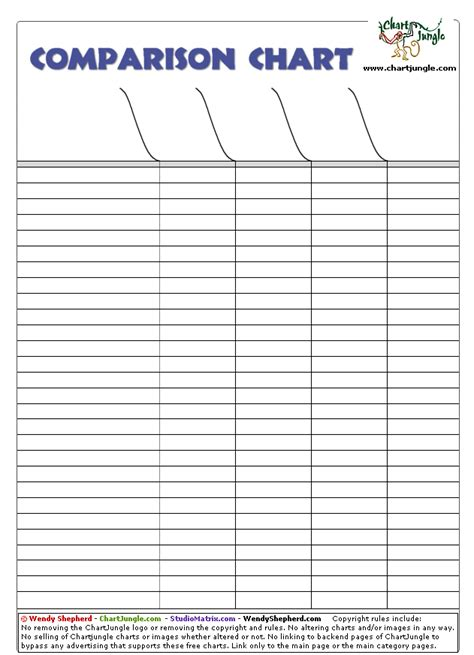 comparison chart template comparisonchart gif