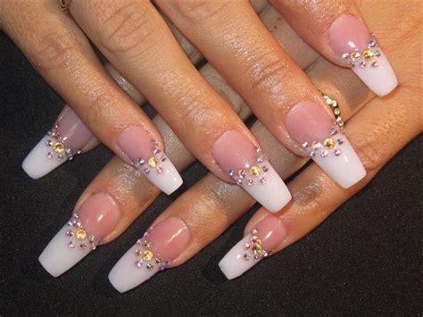 imagenes de unas acrilicas french 142 best images about weddings bridal nails on pinterest