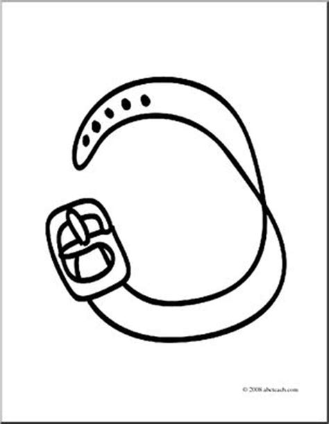 Clip Art Basic Words Belt Coloring Page I Abcteach Com Belt Of Coloring Page