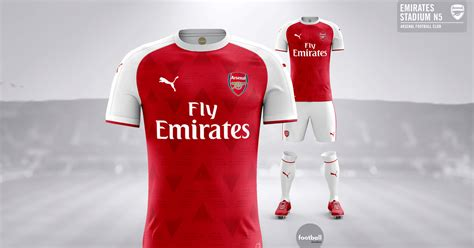 arsenal kit 2017 18 take a look at our arsenal 2017 18 puma concept kit
