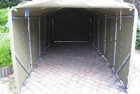 canvas and company portable garages perambulator