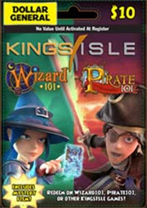 Wizard101 20 Dollar Gift Card - prepaid game cards pirate101 pirate online game
