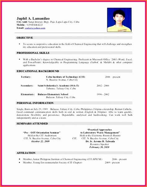 resume exle for ojt resume ixiplay free resume 9 airlines resume exle free sles exles