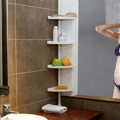 corner shower caddy shelf organizer bath storage bathroom