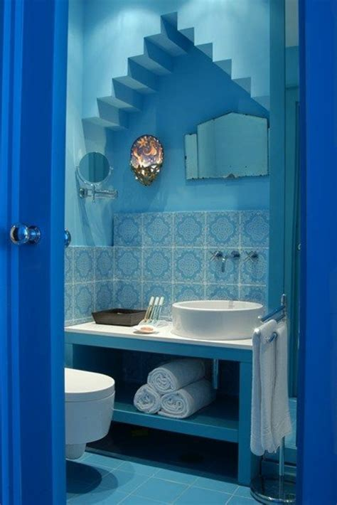 blaue badezimmer bilder einrichten mit farben blaue farbt 246 ne f 252 r ein meer zu