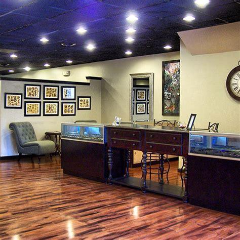 tattoo shop interior upscale joy studio design gallery