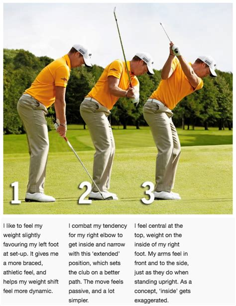 golf swing shoulder rotation how danny willett matched his swing to his physical