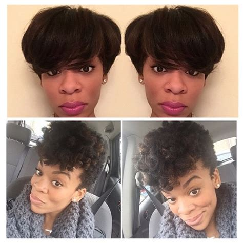 blow out on natural short black tapered tapered cut and blowout on natural hair hair by me