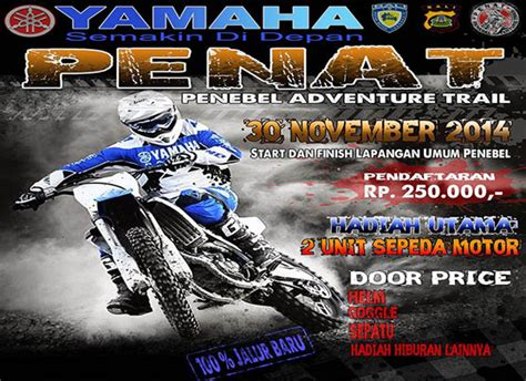 penebel adventure trail bali dirt bike local club event