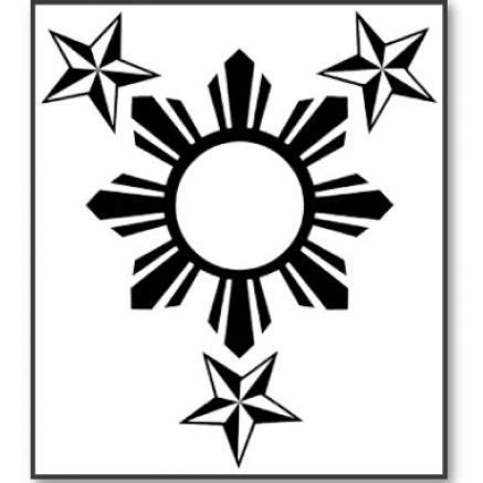 filipino sun and stars tattoo designs sun pinte