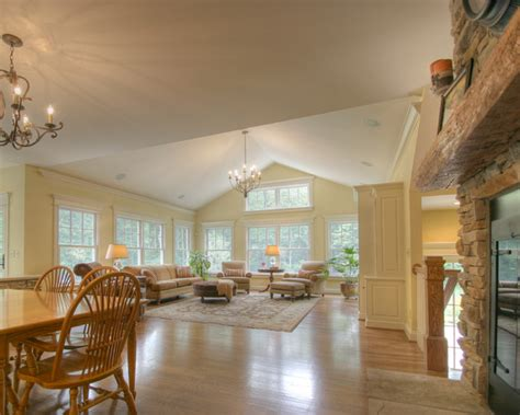 Rooms With Vaulted Ceilings by Casual Home Family Room