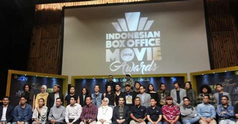 daftar film indonesia box office 2016 daftar lengkap nama pemenang indonesian box office movie