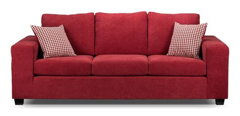 knox upholstery knox red sofa furniture ca