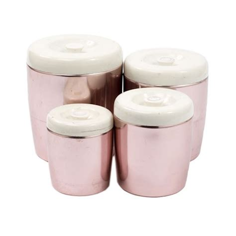 pink kitchen canisters 55 best images about pastel vintage kitchen on