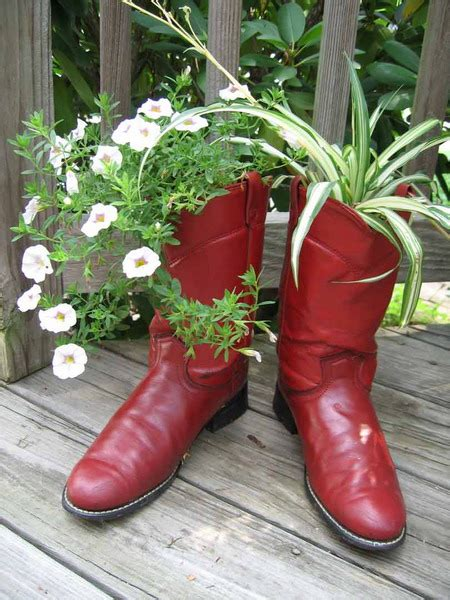 35 ideas to use shoes as planters shelterness