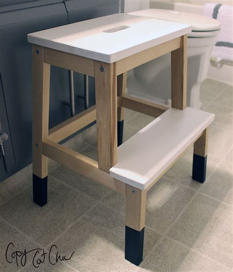 ikea bathroom step stool remodelaholic 12 ikea bekvam step stool hacks