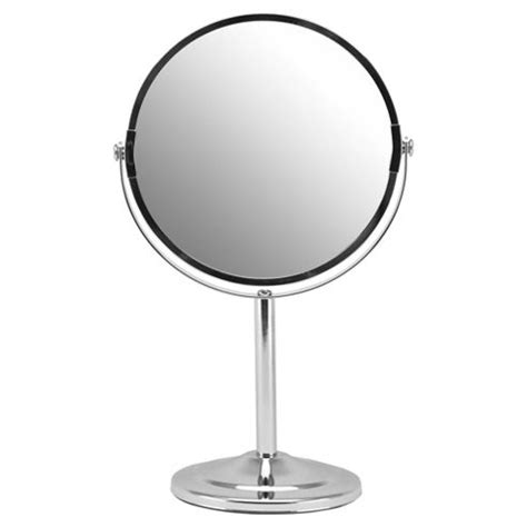 free standing bathroom mirrors buy tesco free standing round bathroom mirror from our