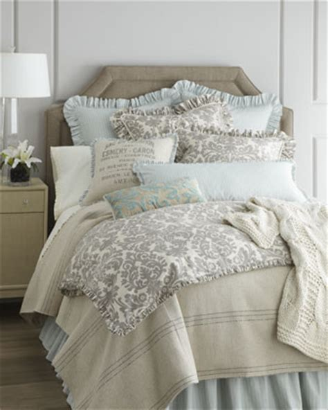 french bed linens french laundry home quot gray damask quot bed linens traditional