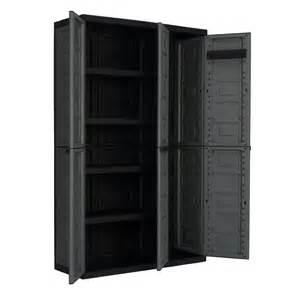 Shop contico 40 in w x 65 in h x 15 4 in d plastic freestanding garage