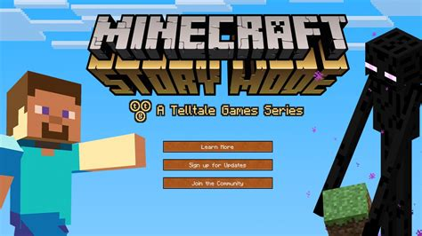 game mode for minecraft new minecraft story mode 2015 video game details