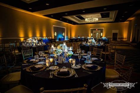 Navy and Gold Wedding at Omni Orlando Resort   A Chair