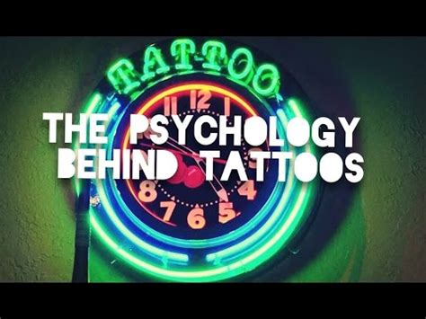 psychology behind tattoos the psychology tattoos jrbtalkies