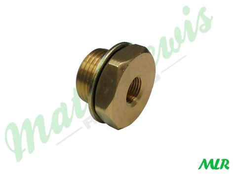 mx sump plug adaptor  oil temperature gauge fiat alfa romeo bmw oil temperature gauge