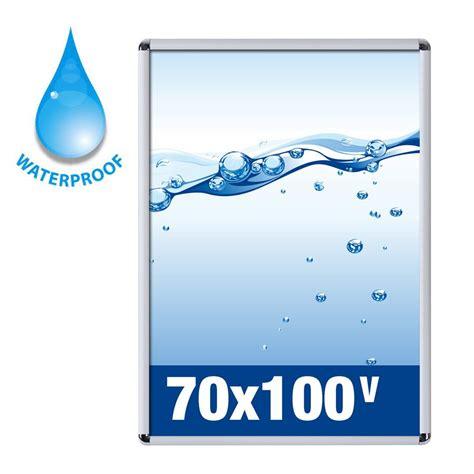 cornici per poster 70x100 cornice a scatto 70x100 waterproof per uso esterno studio t