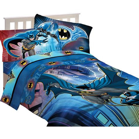 Batman Bedding by Batman Reversible Comforter Walmart