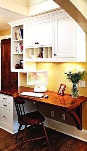 kitchen office space for the home pinterest