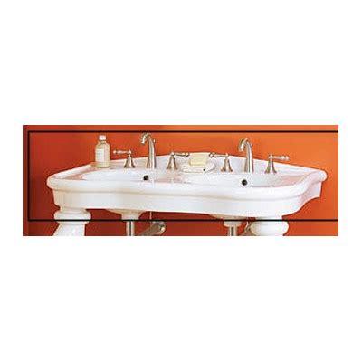 double bowl bathroom sink parisian double bowl console bathroom sink wayfair