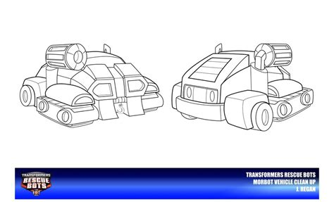coloring page rescue bots rescue bots morbot vehicle mode by thegreatjery on deviantart
