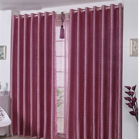 uv curtains ultraviolet proof purlish red panel curtains solid