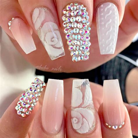 Rhinestone Nails by Brilliant Nail Designs To Try Naildesignsjournal